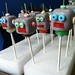 robot cake pop army by rainbow robot