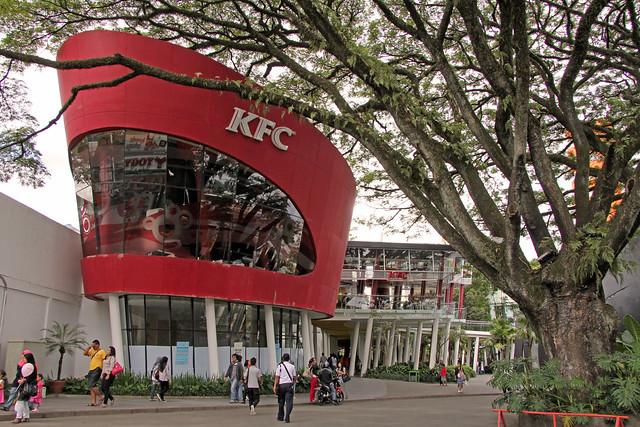 KFC Cihampelas Mall - Bandung (Java - Indonesia)