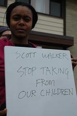 Scott Walker: Stop taking from our children