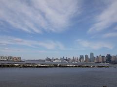 日, 2011-04-03 15:47 - George Washington Bridge から Hoboken までハドソン川沿いをサイクリング
