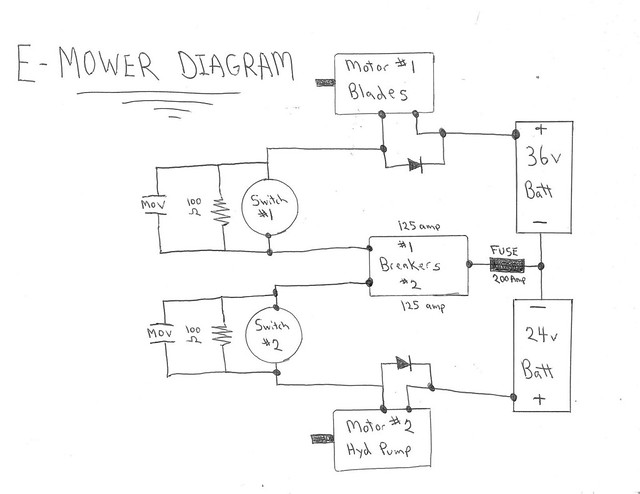 e mower wiring diagram flickr photo