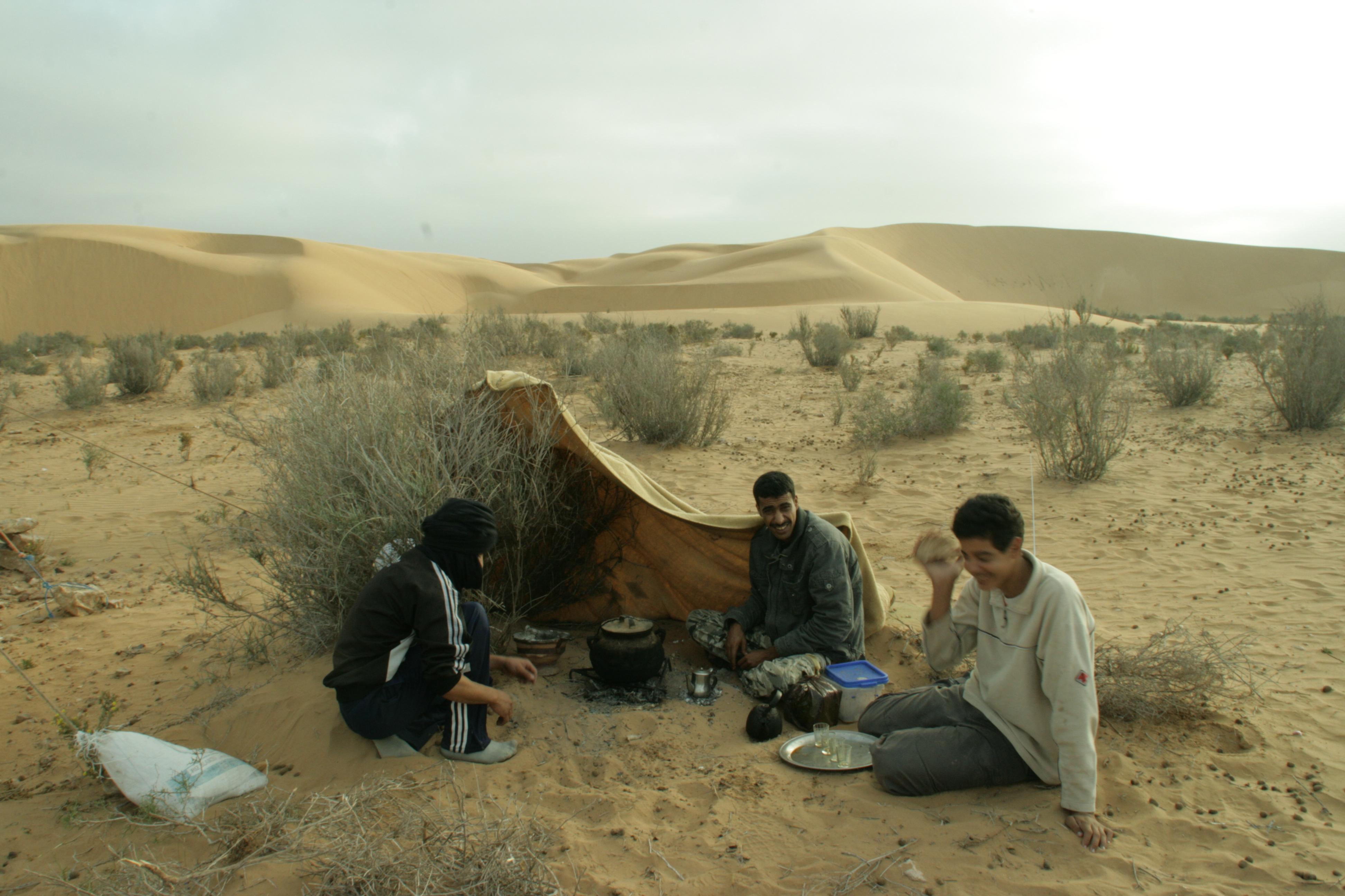 Esmorzar al Sahara