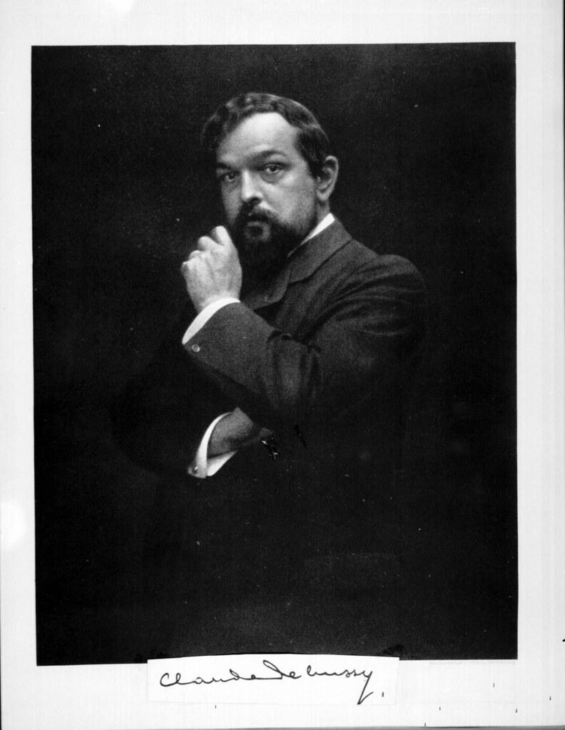 Claude Debussy portrait