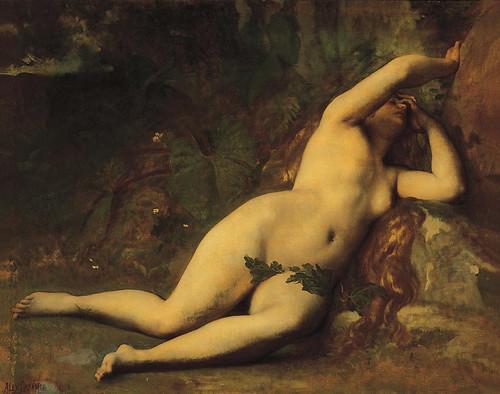 Cabanel, Eve après la chute, 1863