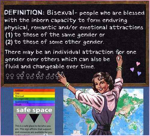 Bi Definition: Teacher Defines Bisexuality