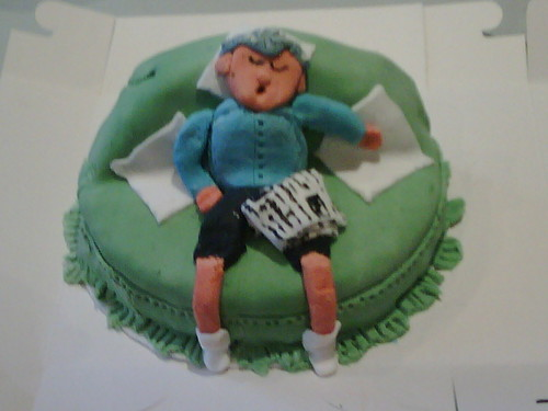 Comfy Chair Novelty Cake