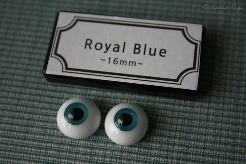 16mm SWITCH Urethane Eyes in Royal Blue