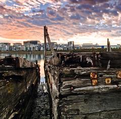 Derelict  wharf, Homebush  Bay 1