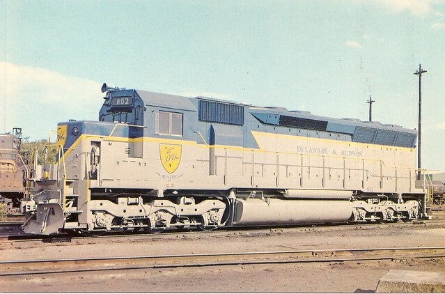 D H0007 In October 1967 The D H Elected To Purchase Their First General Motors Emd Locomotives
