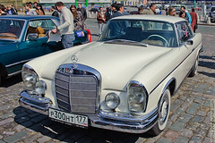 convertible(0.0), automobile(1.0), automotive exterior(1.0), vehicle(1.0), mercedes-benz w108(1.0), mercedes-benz(1.0), mercedes-benz w111(1.0), antique car(1.0), sedan(1.0), vintage car(1.0), land vehicle(1.0), luxury vehicle(1.0), motor vehicle(1.0),