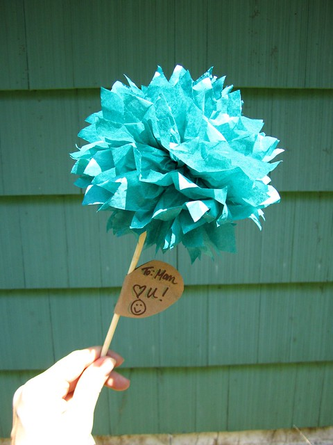 Tissue Paper Flower Box Kit, Wedding Favor Boxes