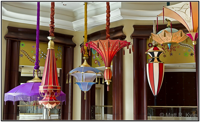 Colorful Lighting Fixtures At The Wynn Flickr Photo