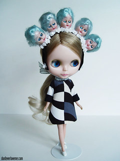 "baby blue ""Blythe Hears Voices"""