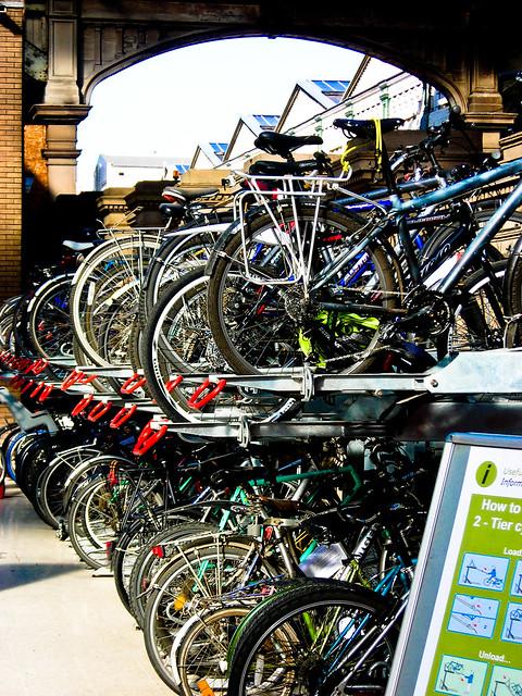 Bike storage unit
