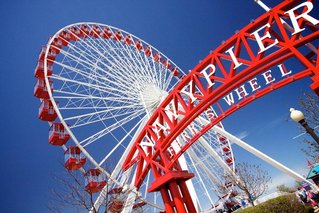 Navy Pier's ferris wheel