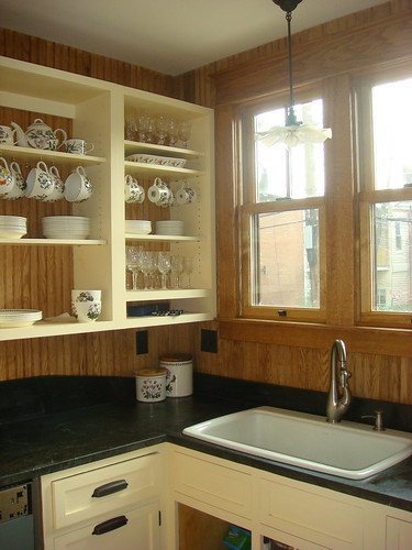 scullery/butler's pantry area