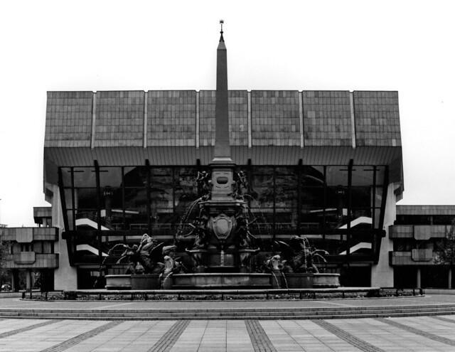 Neues Gewandhaus (New Concert Hall): view of main facade