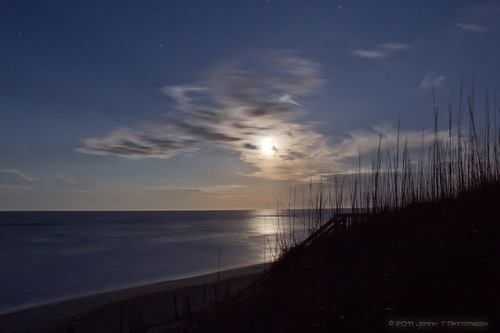 NagsHead NC Ocean Moon Light