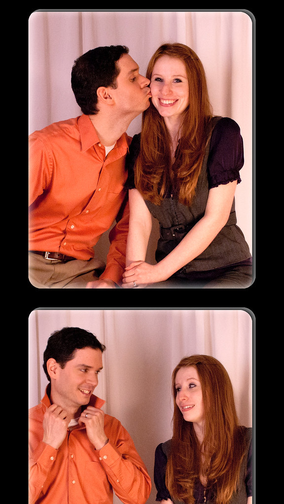Newlywed Game photo strip