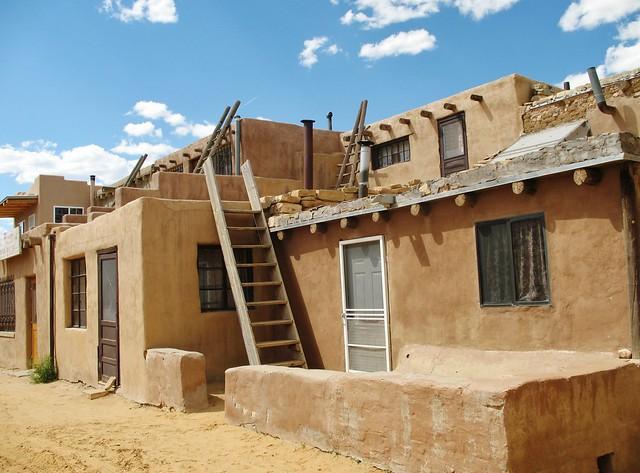 Casas de los indios pueblo en acoma nuevo m xico flickr - Casas de pueblo en valencia ...