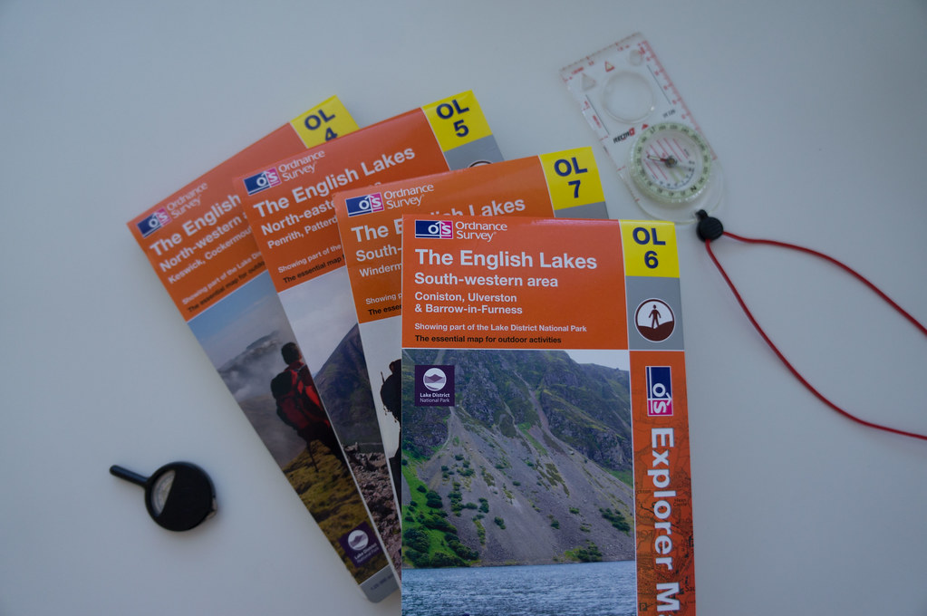 Ordnance Survey Lake District Maps