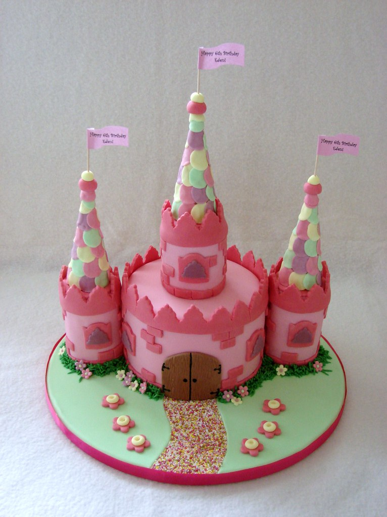 Fairy Princess Castle Cake - a photo on Flickriver