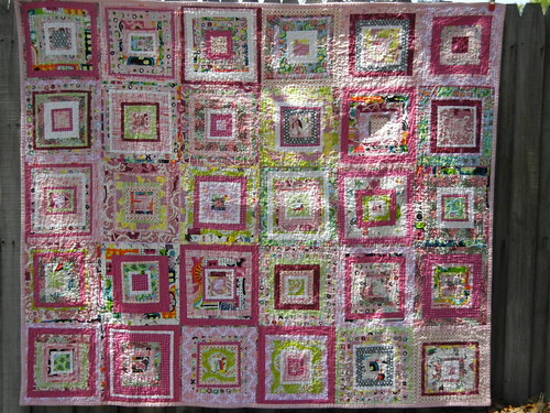 MHC Drunk Love quilt - finished