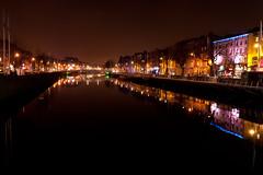 Dublin at Night (River Liffey)