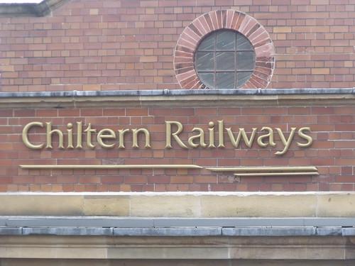 Birmingham Moor Street Station - new signs - Chiltern Railways