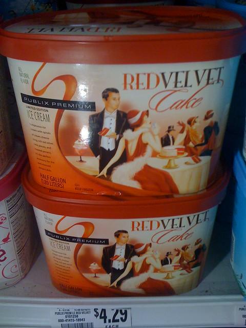 Publix Red Velvet Cake Ice Cream
