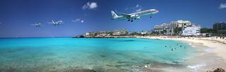 AAarrival in St Maarten