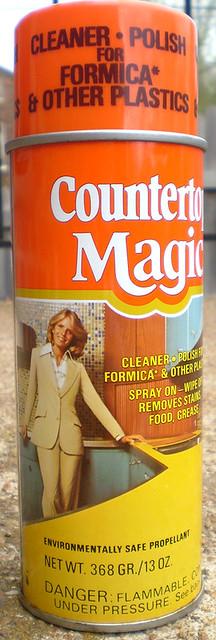 Vintage Countertop Magic Spray Can Flickr - Photo Sharing!