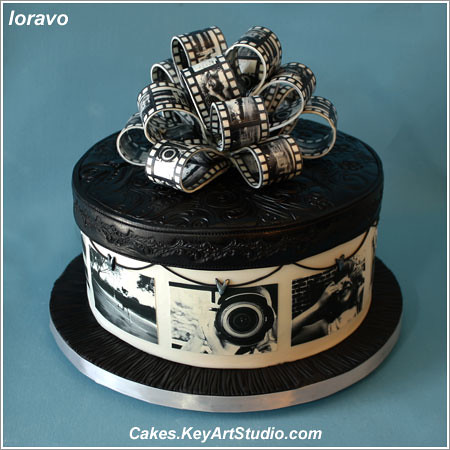 Cake Designs For Photographers : Black and White Photography Cake Flickr - Photo Sharing!