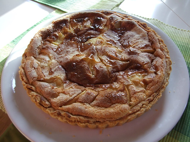 tarte normande aux pommes flickr photo sharing. Black Bedroom Furniture Sets. Home Design Ideas