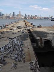 日, 2011-04-03 15:42 - George Washington Bridge から Hoboken までハドソン川沿いをサイクリング