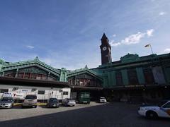 日, 2011-04-03 16:01 - George Washington Bridge から Hoboken までハドソン川沿いをサイクリング Hoboken駅(New Jersey Transit)