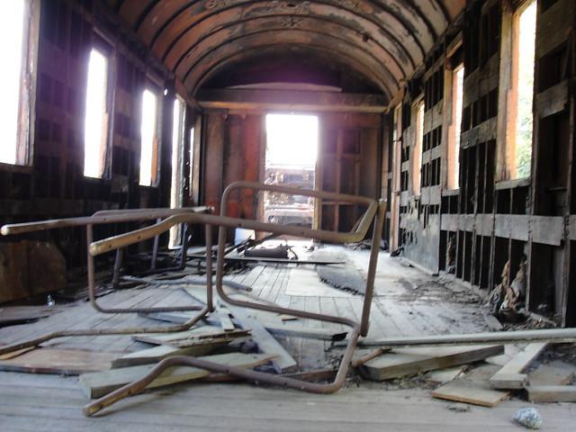 old passenger train interior flickr photo sharing. Black Bedroom Furniture Sets. Home Design Ideas