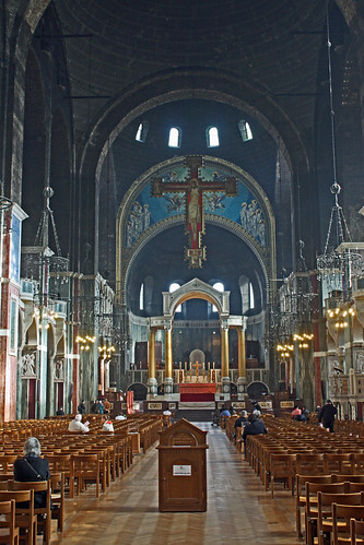 Westminster Cathedral - Apr 2011 - The Main Aisle