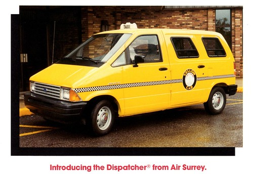 1987 Ford Aerostar Dispatcher Paratransit Vehicle