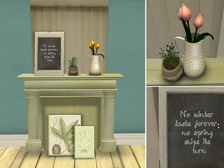 {what next} Laurel Cottage Spring Decor - texture options #1