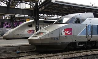 TGV - Paris Gare de l'Est
