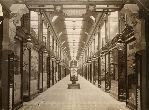 Adelaide Arcade, between Rundle & Grenfell Streets, 1886