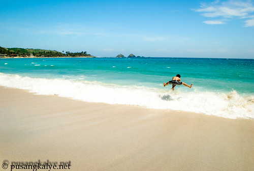 beach jump