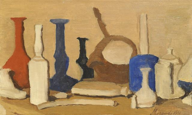Giorgio Morandi. Still Life. 1938. MoMA, NYC