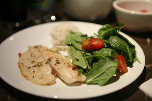 Broiled Talapia