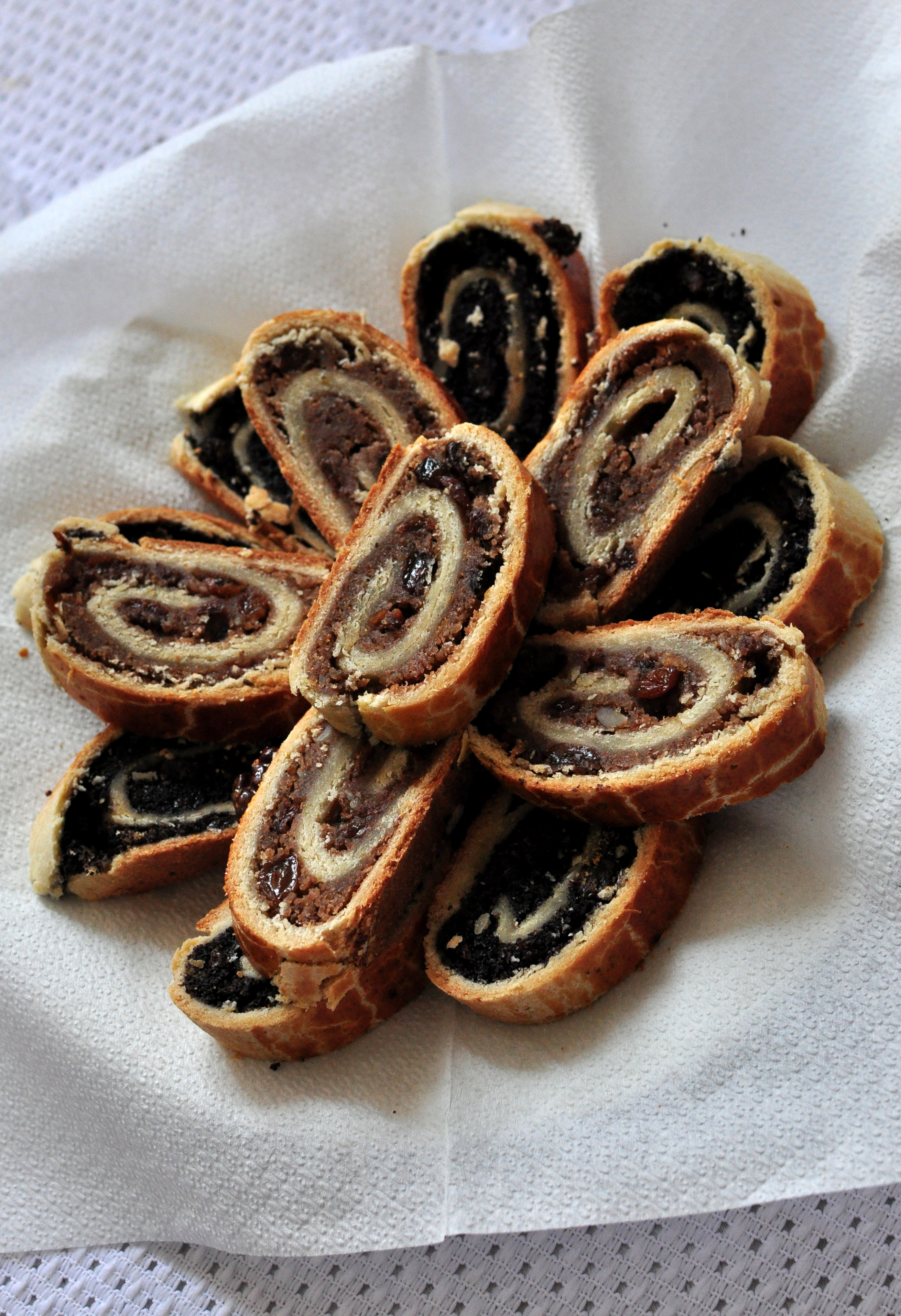 """... calls these little cakes """"moon cakes"""" . Very delicious with coffee"""