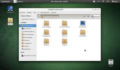 Gnome3 - Fedora 15 (NetBook)