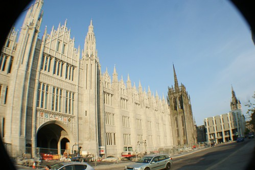 Marischal College, Aberdeen, Scotland