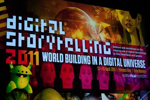 Digital Storytelling 2011 welcome screen
