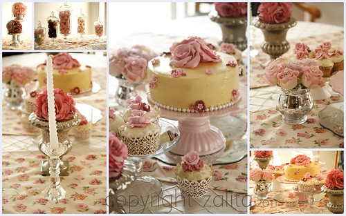 shabby chic engagement by {zalita}